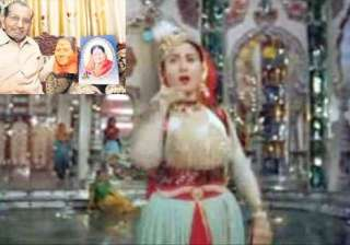 male dancer wore madhubala mask for pyar kiya to...