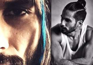 shahid kapoor s quirky new act gets a blue streak...