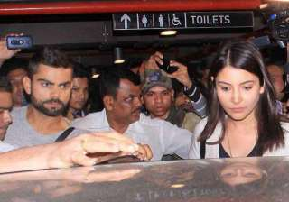know why virat anushka gave a miss to suresh...