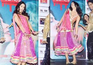 mallika sherawat shows dirty moves at an event...