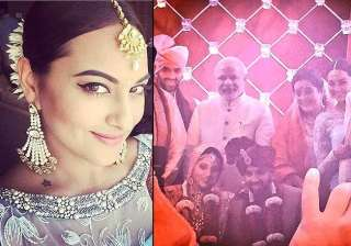 sonakshi sinha s brother gets married pm modi...