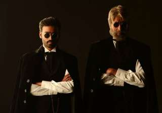 shamitabh is about ego clash says dhanush - India...