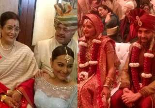 sonakshi sinha s brother kussh s wedding narendra...