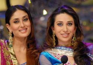 karisma can t play kajol s role in we are family...