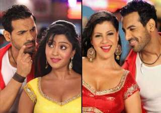 john abraham spotted in a tapori look on welcome...
