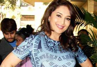 madhuri dixit never struggled for anything in her...