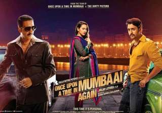 once upon a time in mumbaai dobara movie review...