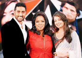 oprah keen on meeting abhishek aishwarya - India...