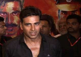 our job is to entertain viewers akshay tells...