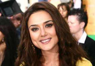 preity zinta rubbishes report says she is not...