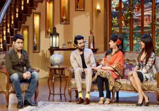 priyanka chopra promotes zanjeer on comedy nights...