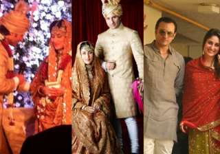 saif kareena wedding album - India TV