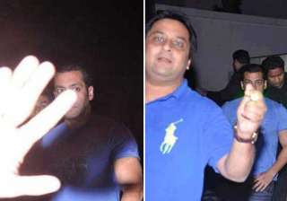 salman khan partied alone on eid view pics -...