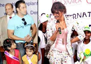 salman and priyanka s day out with kids view pics...