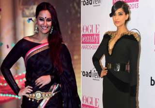 sonam sonakshi to walk the ramp at india intl...