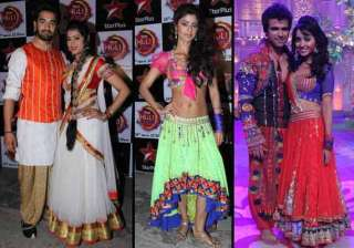 tv couples spotted playing waterless holi on the...