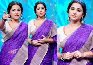vidya balan returns on tv to host women s day...