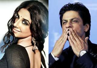 vidya expresses desire to work with shah rukh...