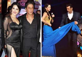 will shah rukh and salman fulfill sunny leone s...