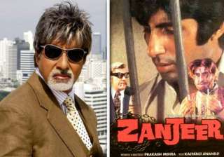zanjeer remake is a compliment says amitabh...