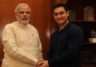 aamir khan requests pm modi to work on social...