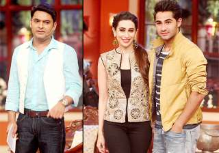comedy nights with kapil karisma laughs a lot...