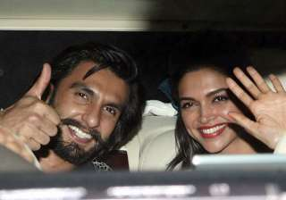deepika spends time with ranveer in goa before...