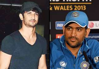 sushant singh rajput to play m.s. dhoni on screen...