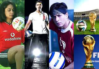 fifa world cup 2014 bollywood movies based on...