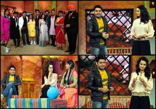 leaked images of comedy nights with kapil new set...