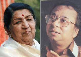 lata mangeshkar claims that r.d. burman was too...