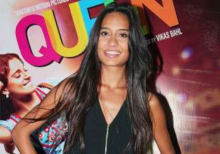 hot lisa haydon is happy that she did queen with...