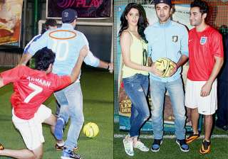 ranbir kapoor shows fifa fever wears messi and...