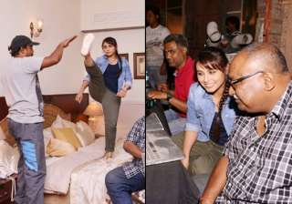 exclusive rani mukerji on the sets of mardaani...