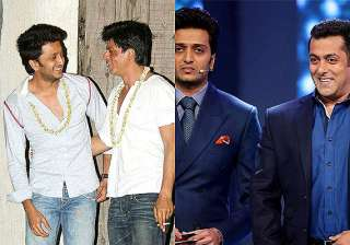 not shah rukh but salman to do a cameo in riteish...