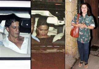 shah rukh deepika with their happy new year team...
