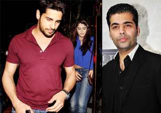 sidharth malhotra mingles with a girl ditches...