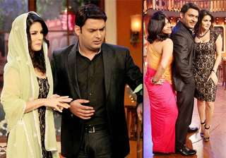 comedy nights with kapil hot sunny leone turns...