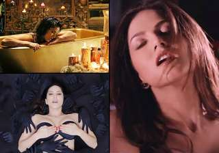 sunny leone s sexy performance in orgasm sequence...