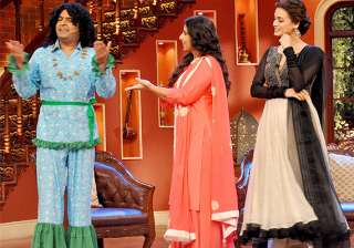 know why vidya balan got jealous of kapil sharma...