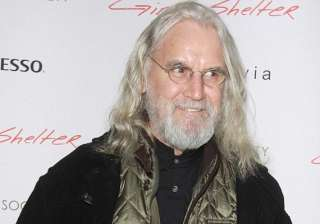 billy connolly puts funny side up during health...