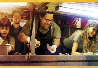 chef movie review enjoyable but cloyingly...