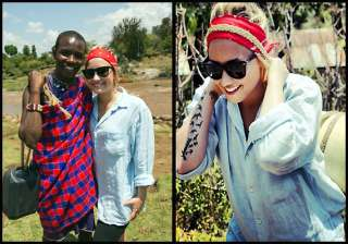 demi lovato loved her kenya trip - India TV