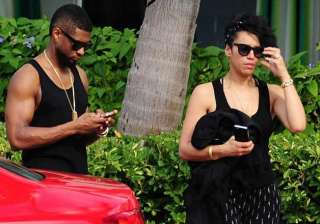usher engaged to grace miguel - India TV