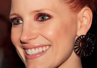 jessica chastain had dropped out of high school -...