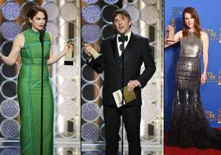 golden globes 2015 round up and the winners...