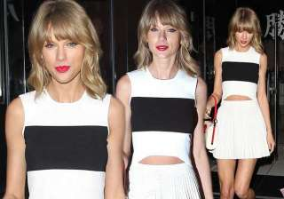 swift flaunts legs in tiny white skirt - India TV