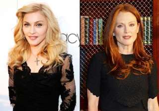 madonna made julianne moore nervous in body of...