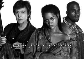 rihanna releases song with mccartney kanye -...