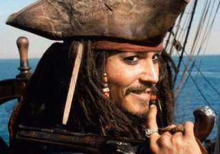 johnny depp is back as captain jack sparrow in...